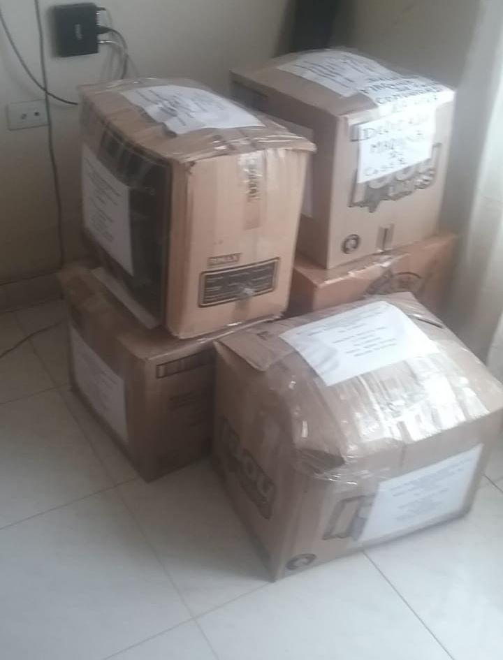 Paquetes de donaciones para Puerto Inidi