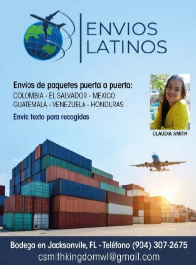 Envios Latinos Flyer