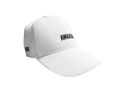 AWAKEN 帽子 (白色 大 60-62cm )