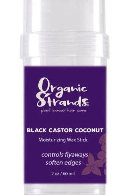 Black Castor Coconut Moisturizing Wax Stick