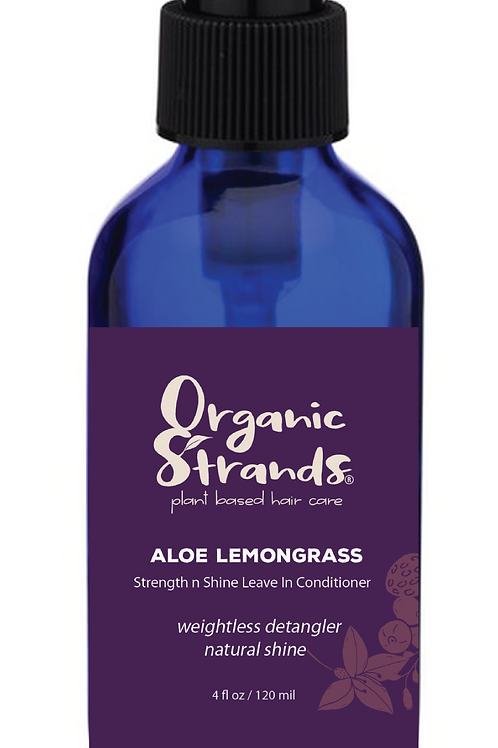 Aloe Lemongrass Strength n Shine Leave In