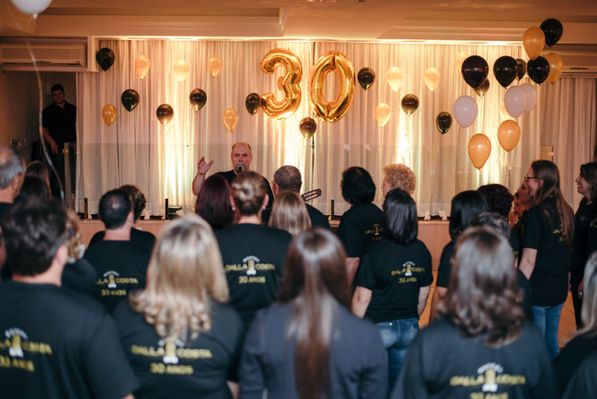 Confraternização de 30 anos do Buffet Dalla Costa