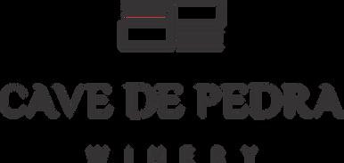 Logotipo fundo transparente Cave de Pedr