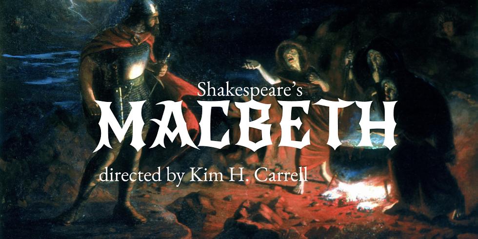 CUPS Presents: Macbeth