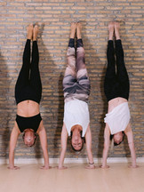 Yoga Studio Handstand Fun