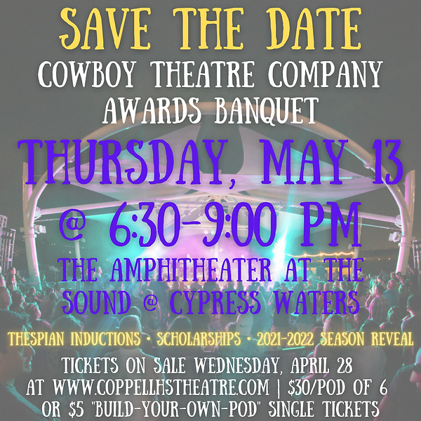 SAVE THE DATE_ Cowboy TheaTRE COMPANY AW