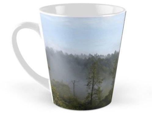 Latte Mug Foggy Redwoods / Big Basin