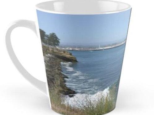 Latte Mug Santa Cruz Wharf