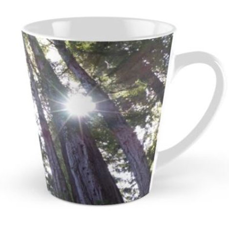 Latte Mug Redwood Trees