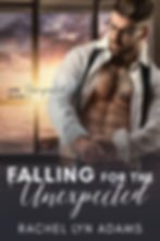 Falling For The Unexpected E-Book Cover.