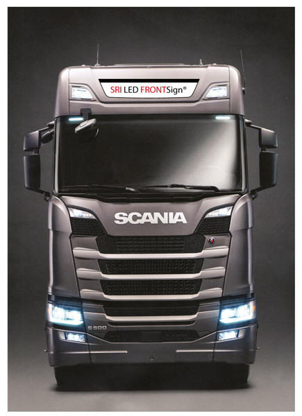 LED Nameboard - Scania Next Gen Highline 22x115 cm S&R Series