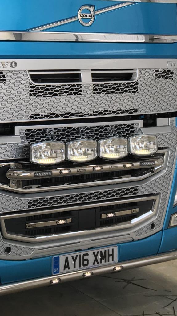 Volvo V4 FH Grill Strip With Sensor