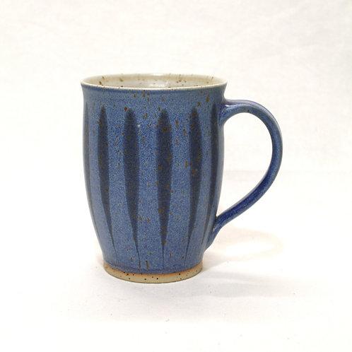 Trinkviel Tasse hellblau Feder