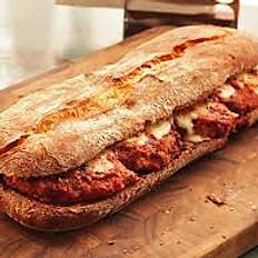 Chicken Parmigiano Sandwich