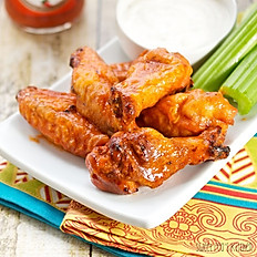 WINGS served with celery & ranch dressing