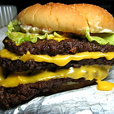 """33"" Triple Burger (18oz Burger)"