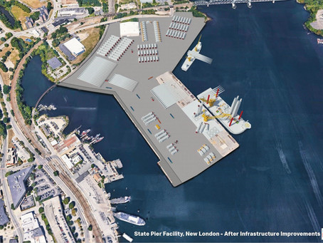 New London State Pier redevelopment offers long-term economic and climate benefits.