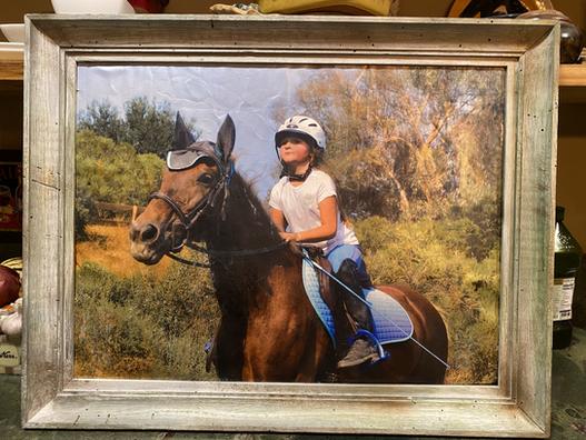 30x40 framed acryllic print
