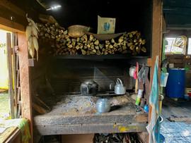 Kitchen Stove in Merasa Village