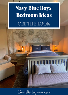 Navy Blue Boys Room Ideas - RH Baby & Child Inspired