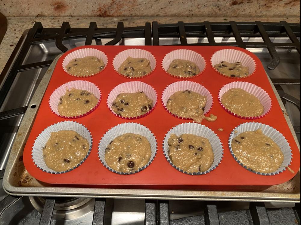 Keto Dessert Recipe: Chocolate Chip Muffins Grain Free  Sugar Free Gluten Free