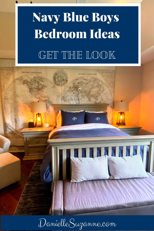 Navy Blue Boys Bedroom Ideas