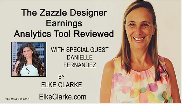 Zazzle Designer Earnings Analytics Tool Reviewed by Elke Clarke
