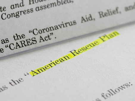 $1.9 Trillion American Rescue Plan Tax Highlights