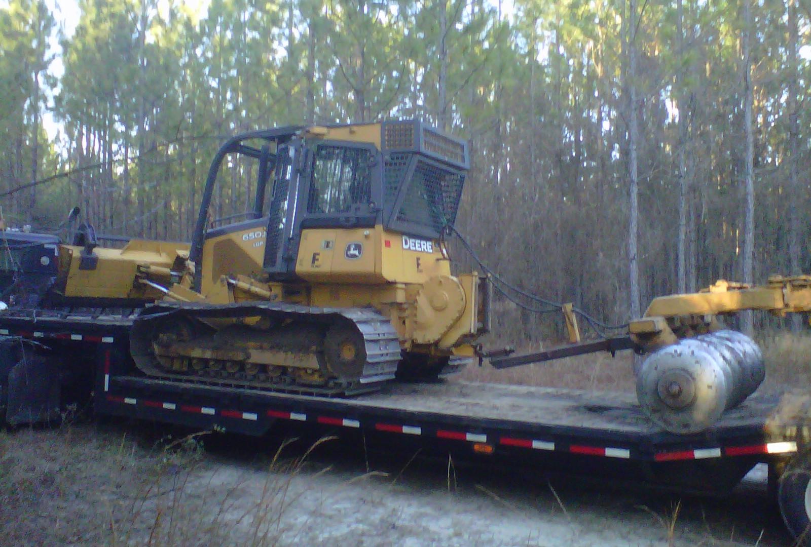 JD650J LGB w/ Forestry Package
