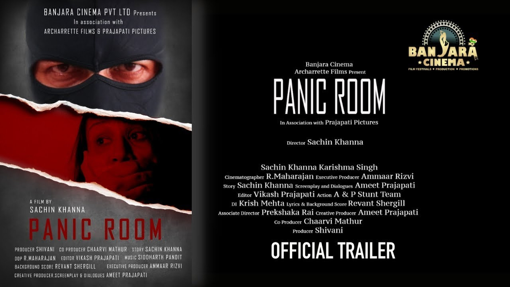 Banjara Cinema - Panic Room Trailer