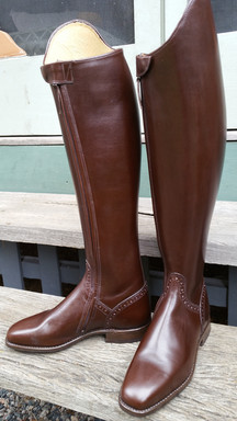 Boots with Dressage Toe