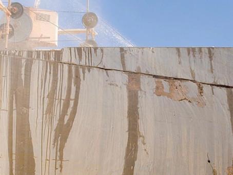 Las exportaciones alicantinas de mármol cierran el semestre con descensos