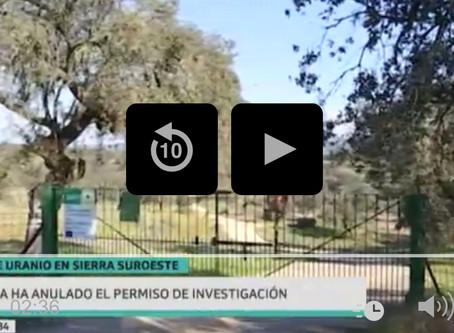 El TSJEx considera válido el permiso de investigación de la mina de uranio Sierra Suroeste