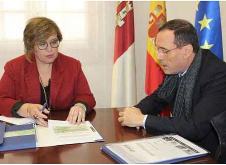 Minas de Almadén y Arrayanes analiza con el Gobierno de Castilla-La Mancha los proyectos de futuro d