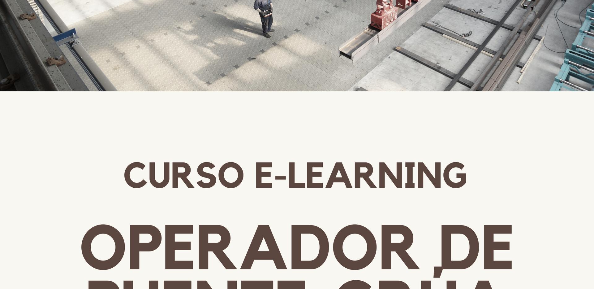 CURSO OPERADOR DE PUENTE GRÚA