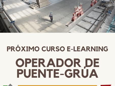 Curso e-learning para operador de puente grúa.