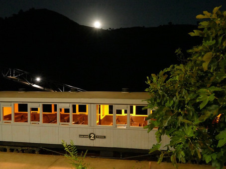 El 'Tren de la luna' vuelve al Parque Minero de Riotinto