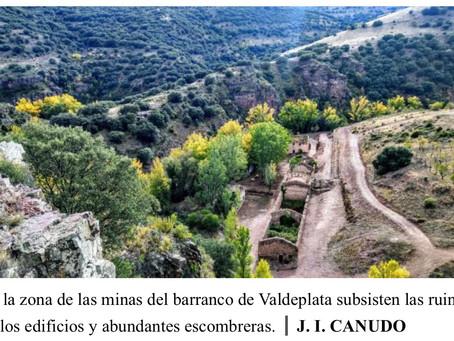 Las antiguas minas de Valdeplata, en Calcena