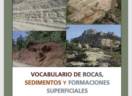 Vocabulario de rocas, sedimentos y formaciones superficiales