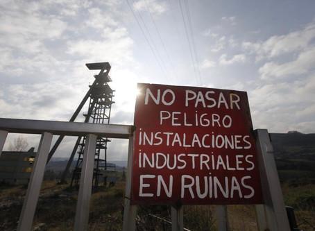 Las toneladas de tierra sacadas para hacer la estación acabarán en minas