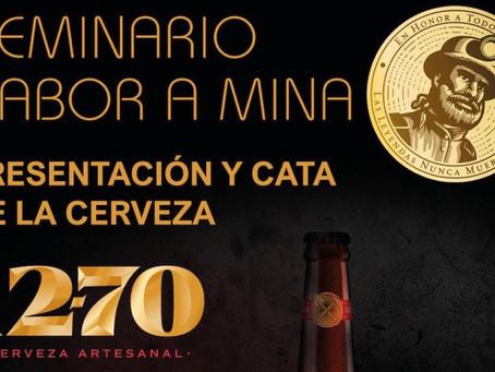 La cerveza artesanal 1270 producida en las instalaciones mineras de Lumajo