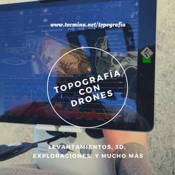 TOPOGRÁFIA CON DRONES