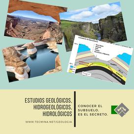 ESTUDIOS GEOLOGICOS  HIDROGEO