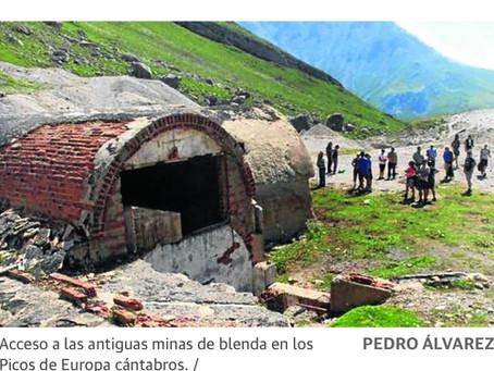 Los secretos de Las Mánforas, una mina abandonada en los Picos de Europa