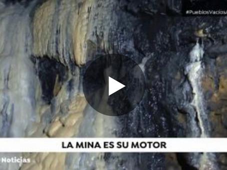 Una mina de 2.000 años de antigüedad vence a la despoblación de una pequeña localidad de Cuenca