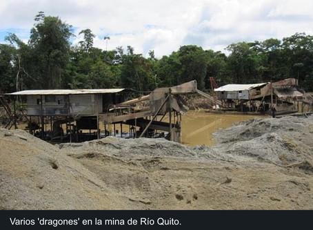 La guerra contra la minería ilegal en la selva colombiana