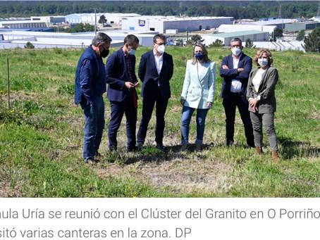 La Xunta anuncia la elaboración de una Estrategia Gallega de Minería Sostenible