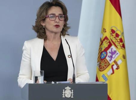 El Gobierno envía a las Cortes el primer proyecto de Ley de Cambio Climático y Transición Energética