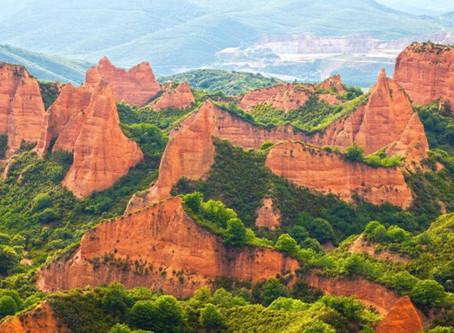 El geoparque aspira a ser el mayor conjunto mundial de minería aurífera romana