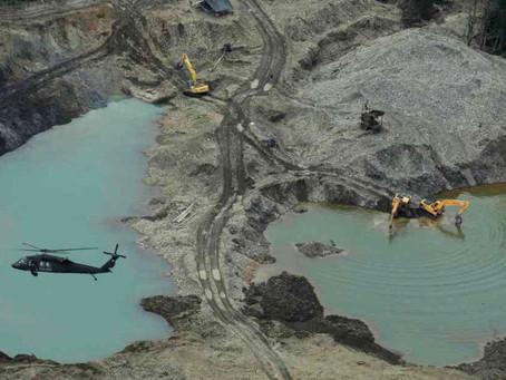 Caen los máximos responsables de la minería ilegal en Triángulo de Telembí